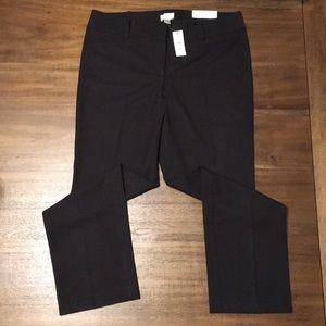 LOFT Straight Leg Trouser Pants. Women's Size 12